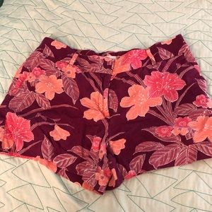 Floral print LOFT shorts